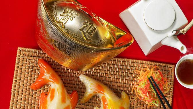 Kuliner Imlek. (Foto: Dok. Gran Melia Jakarta)
