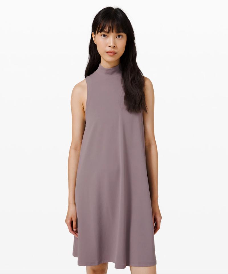 All Aligned A-line Dress. Image via Lululemon.