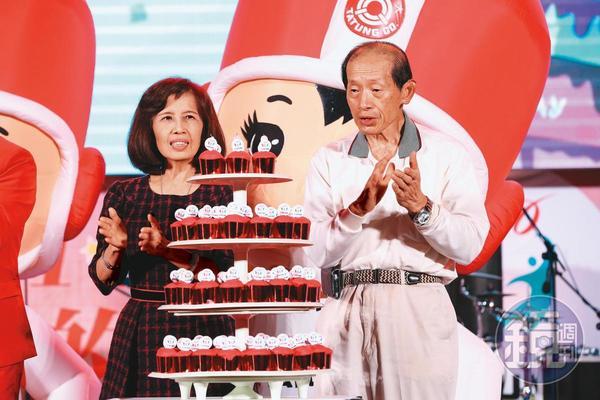 林郭文艷(左)28歲與林蔚山(右)成婚,從此展開近40年的邁向權力之路。