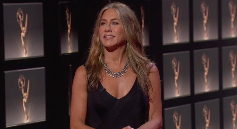 Jennifer Aniston used a very affordable sheet face mask to prepare for this year's Emmy Awards 2020. (Getty Images)