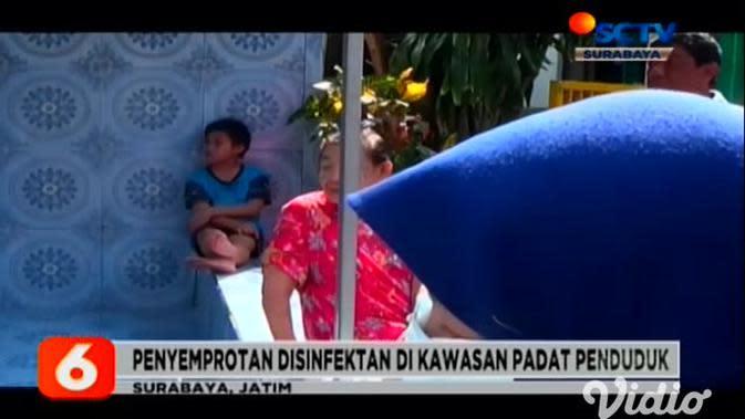 VIDEO: Wali Kota Risma Terjun Langsung Awasi Penyemprotan Disinfektan