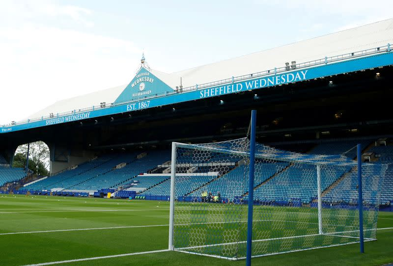 Soccer-Sheffield Wednesday to begin 2020-21 season with 12-point deduction