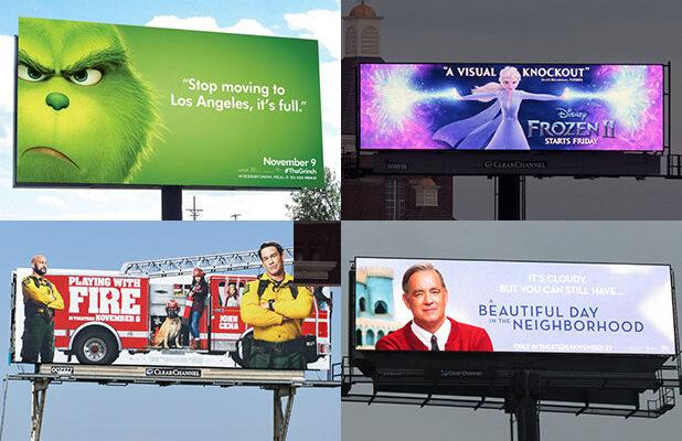 Why Hollywood's Love of Billboards (Yes, Billboards) Is on the Rise in the Digital Ad Age