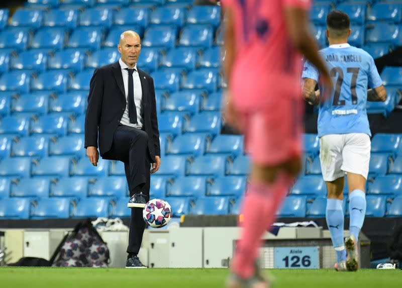 Zidane defends leaving target man Jovic on bench in Sociedad draw