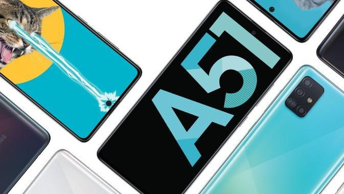 Samsung akan membuka pre-order Galaxy A51 pada 10 Januari 2020 (sumber: Samsung)