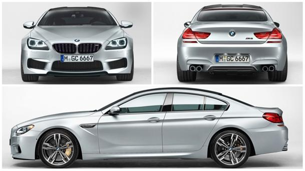 2014 BMW M6 Gran Coupe brings two extra doors via speedy delivery