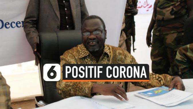 VIDEO: Wakil Presiden Sudan Selatan Positif Terinfeksi Corona