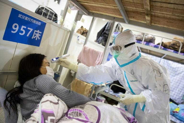 The WHO has praised China for taking drastic measures to contain the virus