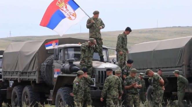 VIVA Militer: Reli militer Kejuaraan Dunia 2020.