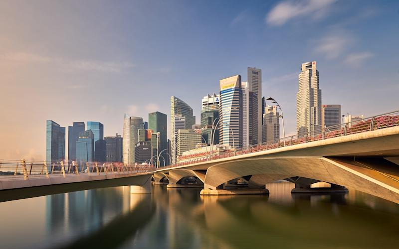 Singapore of on the 'travel corridors' list – but you still can't go - Getty