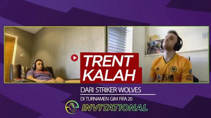 VIDEO: Bek Liverpool, Trent Alexander-Arnold Kalah dari Striker Wolves di Final Turnamen Gim FIFA 20