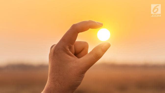 Ilustrasi matahari (iStockPhoto)