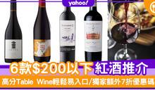 【紅酒推薦】$200以下紅酒推介6款 高分Table Wine輕鬆易入口