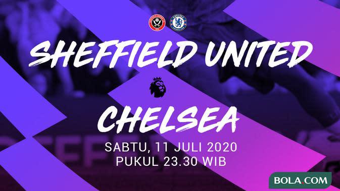 Premier League - Sheffield United Vs Chelsea (Bola.com/Adreanus Titus)
