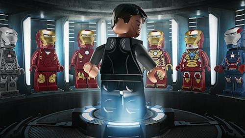 'Iron Man 3′ Posters Get LEGO Treatment