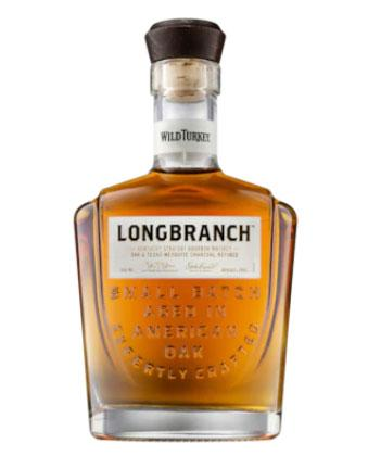 "<p>You can never go wrong with a bottle of booze. A bottle of whiskey is definitely a good one to help deck out your man's bar cart. Source: <a rel=""nofollow"" href=""https://www.danmurphys.com.au/product/DM_696642/wild-turkey-longbranch-kentucky-straight-bourbon-whiskey-700ml"">Dan Murphy's</a> </p>"