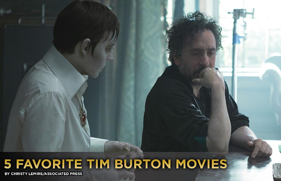 5 Favorite Tim Burton Movies