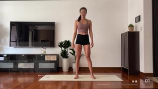 10分鐘瘦大腿運動 (針對內側 緊實腿線條)