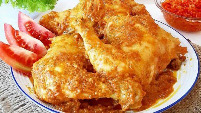 Resep Ayam Betutu Kuah, Cocok untuk Hidangan Keluarga