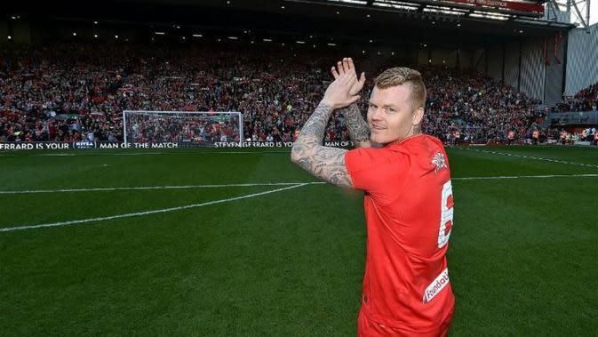 Mantan bek Liverpool John Arne Riise. (Dok. Liverpool)