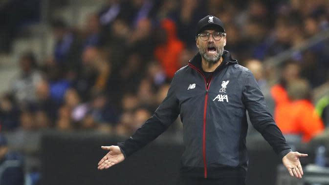 Pelatih Liverpool, Jurgen Klopp (AP/Francisco Seco)