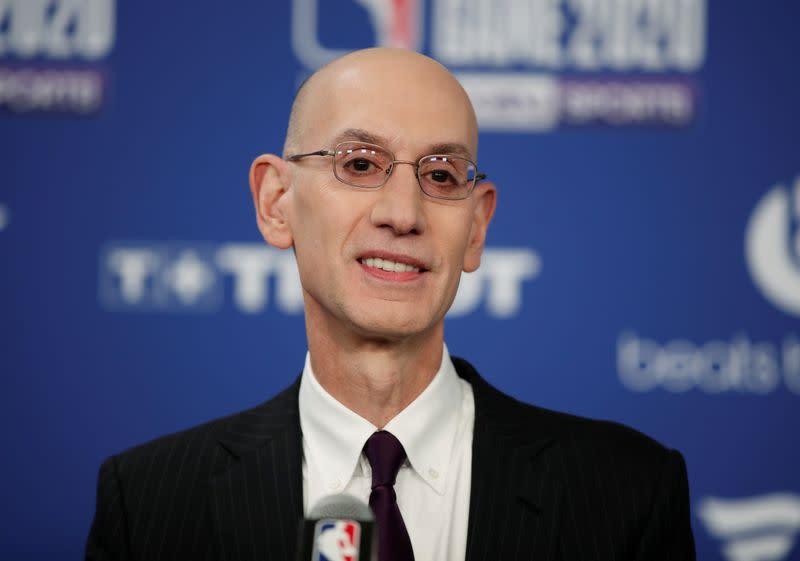 Significant spread of COVID-19 in Orlando could halt NBA season, commissioner Silver says