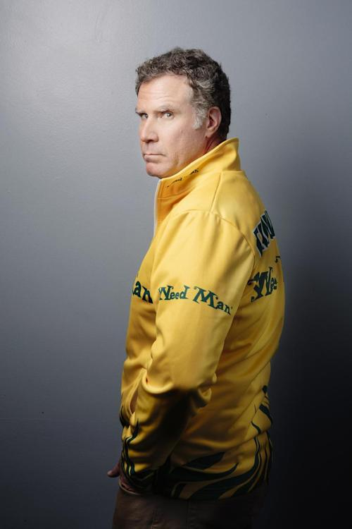 """This Dec. 6, 2013 photo shows actor Will Ferrell from the film """"Anchorman 2: The Legend Continues"""" posing in New York. Ferrell returns to portray newscaster Ron Burgundy in the sequel to """"Anchorman: The Legend of Ron Burgundy."""" (Photo by Victoria Will/Invision/AP, File)"""