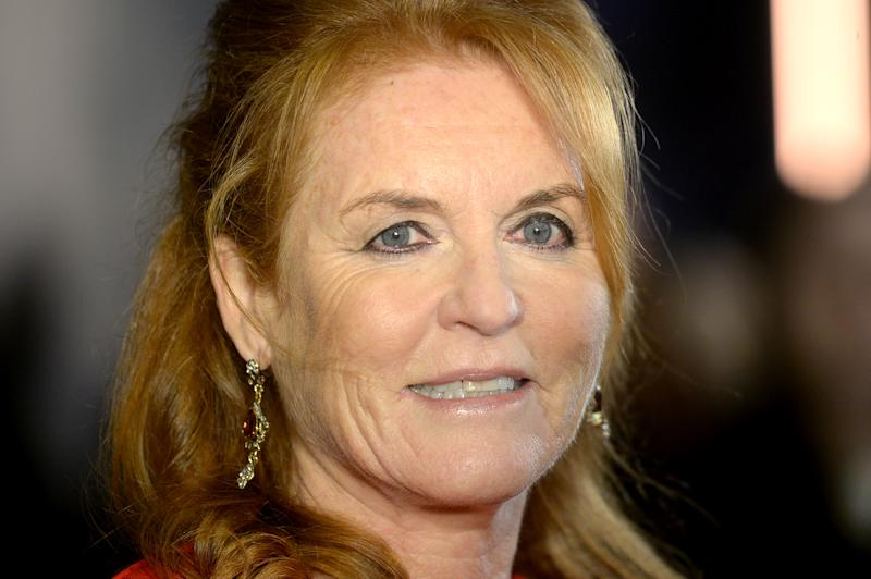 Sarah Ferguson attends the BFI Luminous Fundraising Gala at The Roundhouse on October 01, 2019 in London, England. (Photo by Dave J Hogan/Getty Images)