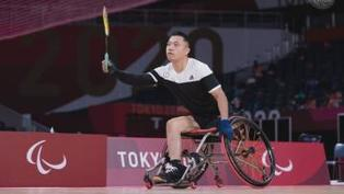 殘奧會 陳浩源為港隊奪輪椅羽毛球銅牌