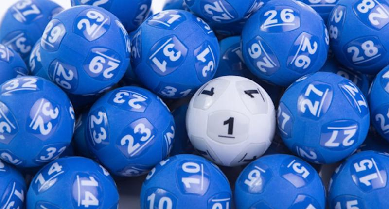 A stock image of Powerballs. The ticket was sold at newsXpress in Brassall, a suburb of Ipswich.