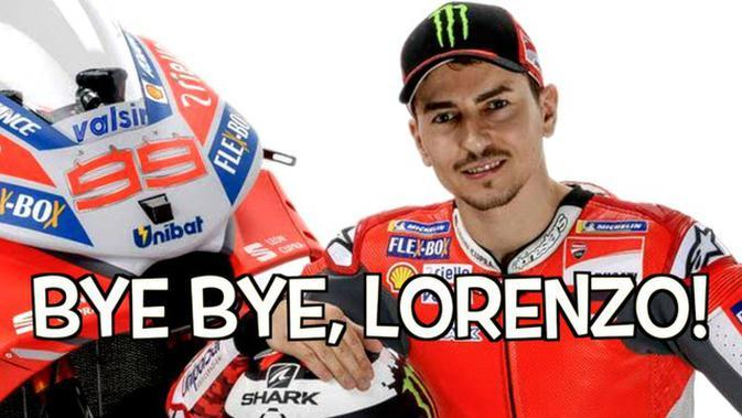 VIDEO TOP 3: Pembalap Jorge Lorenzo Pensiun