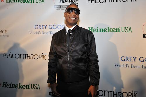 Doug E. Fresh is seen at the Hip-Hop Inaugural Ball on Sunday, Jan. 20, 2013 in Washington. (Photo by Larry French/Invision/AP)