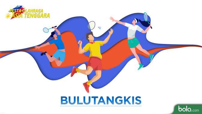 SEA Games 2019: Indonesia Tanpa Tunggal Putra di Semifinal Bulutangkis Perorangan