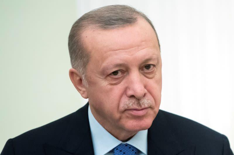 Erdogan says Turkey lost ground in coronavirus fight