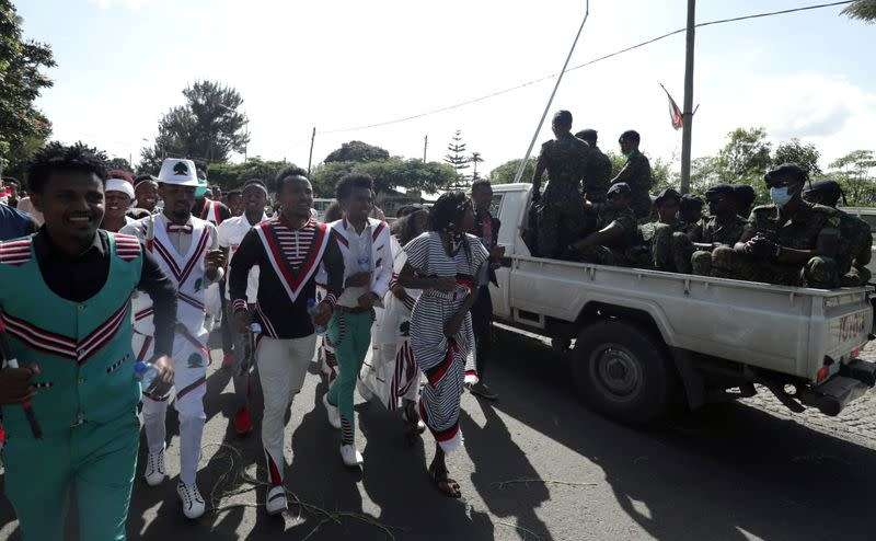Ethiopia's Oromo celebrate tense thanksgiving amid tight security