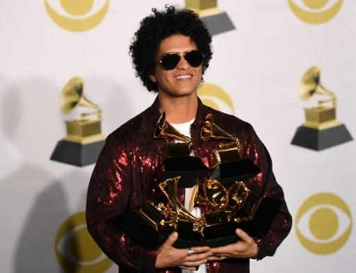 Despite a glut of hip-hop nominations, Bruno Mars was the big winner at the 2018 Grammys, sweeping the top awards