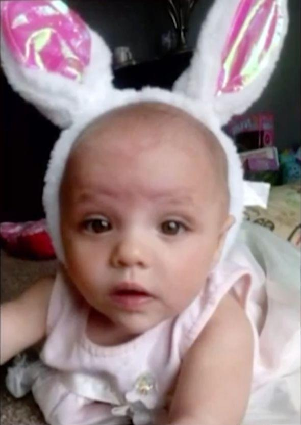 Police said baby Skylah could have been alone for up to three days. Source: WOOD-TV