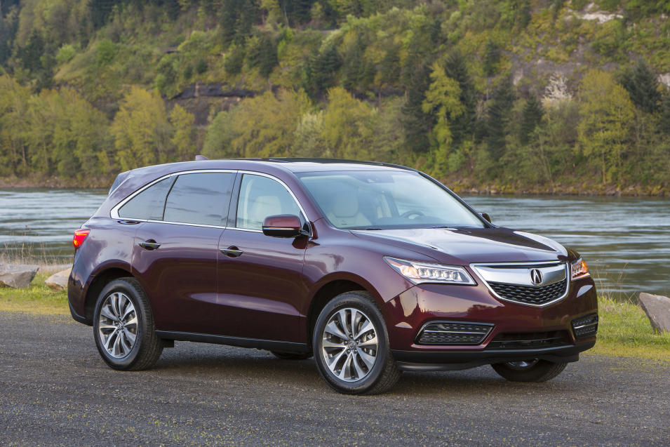 This undated image made available by Honda shows the 2014 Acura MDX. (AP Photo/Honda)