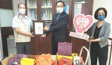 南市社會局與台南大遠百以粽傳愛端午佳節捐助弱勢家庭