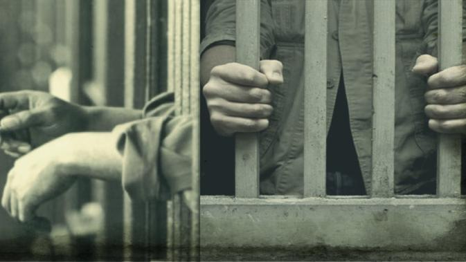 Ilustrasi narapidana.