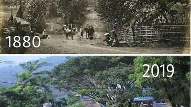 Lihat Foto Jalan Ini, Warganet Jadi Ingat Fast and Furious
