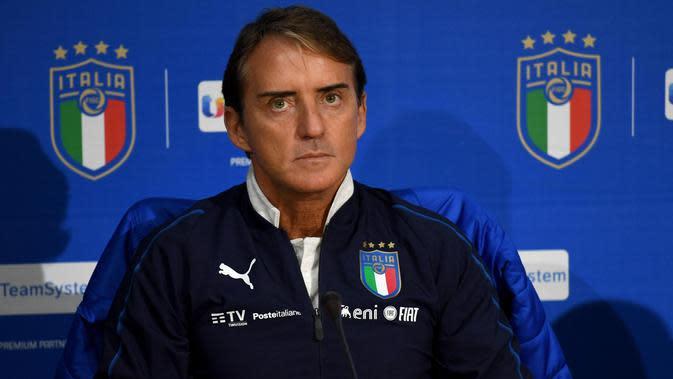 Roberto Mancini. (Claudio Giovannini / ANSA via AP)