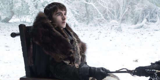 Bran Stark before he became king in Game of Thrones season 7