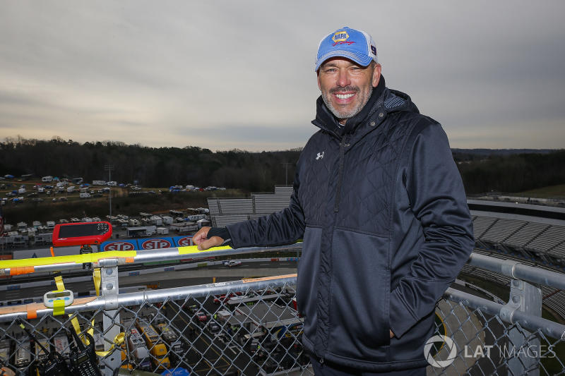 Eye in the Sky: Eddie D'Hondt celebrates Chase Elliott's first win