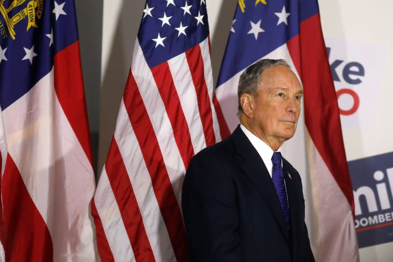 'I'm spending all my money to get rid of Trump': Michael Bloomberg