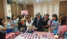 影/移民署行動列車抵彰化 與新住民做水晶月餅慶中秋
