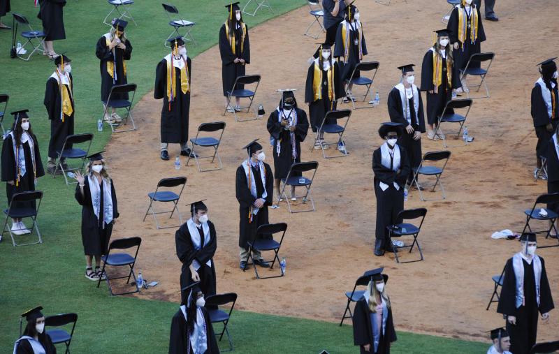 APTOPIX Virus Outbreak Graduation Alabama