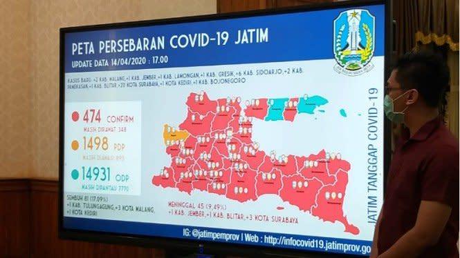 Gugus Tugas Beri Peringatan, Surabaya Bisa Jadi Wuhan