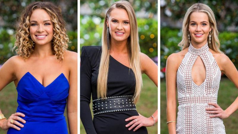 Abbie Chatfield, Chelsie McLeod, and Helena Sauzier make the final five on The Bachelor Australia