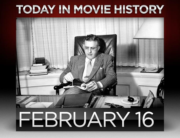 Today in movie history February 16